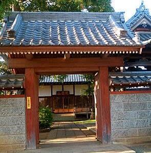 むくろじ の ある寺