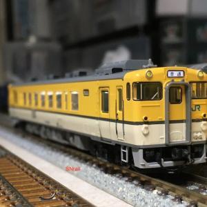 TOMIX キハ40広島色の入線整備