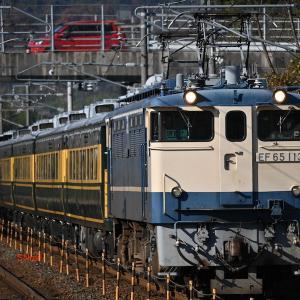 新旧長距離列車を撮影する