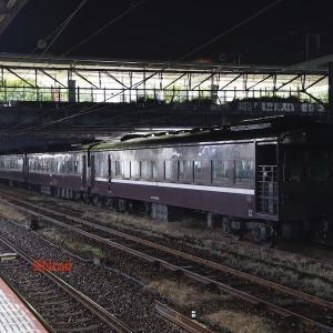 35系客車 EL牽引で下関まで往復する
