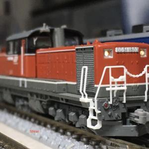 TOMIX DD51新更新車の加工