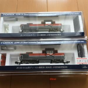 TOMIX 2244 DE10新更新車のプチレビュー&整備