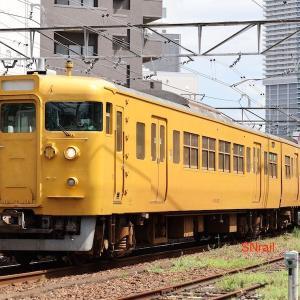 2ドアの115系 再び広島へ