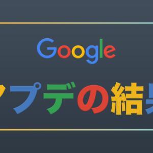 Googleアプデ後に2カテゴリ(80記事)削除した結果