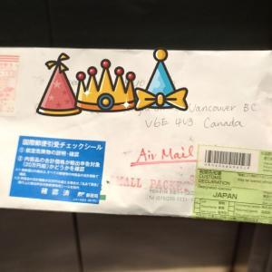 納豆の日に1ヶ月以上かかって届いた日本からの手紙💌とブルックスブラザーズのニュース