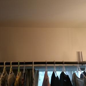 デイトレ収支と室内物干し竿