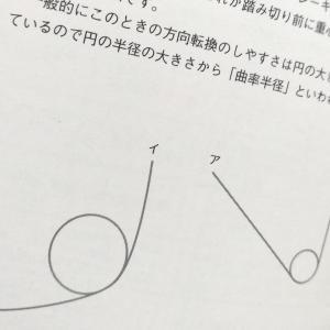 そり立つ壁の攻略法は、「曲率半径」で重心を下げてジャンプ? / 跳躍  陸上競技入門ブック