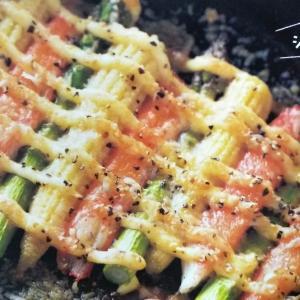 カニカマのマヨネーズ焼き / カニカマ100皿