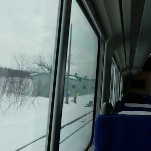 3日目その6 この日最後の客になる ★冬のきた北海道フリーパスの旅