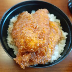 鳥忠食堂 ささみかつ丼 半ラーメン【佐久市】