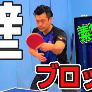 【卓球】張一博監督の鉄壁ブロックを学ぼう!スローあり【琉球アスティーダ】