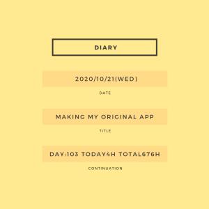 学習103日目:次の機能拡張の設計書を作成。