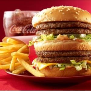 マクドナルドのハンバーガーあああ!食べたいよう