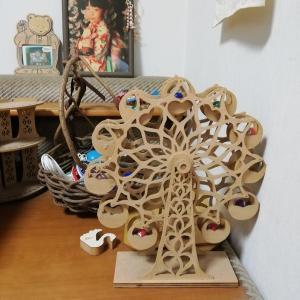 木工品手作り~療養中に作りました(下手で写真は綺麗でないですが)