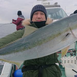 1月11日2号艇 青物&根魚‼️全体釣果