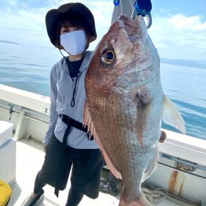 7月2日 3号艇 短時間鯛ラバ