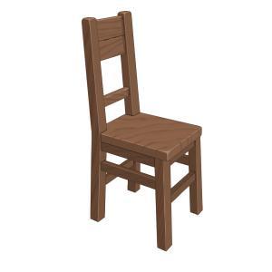 パーツの練習 ~椅子~