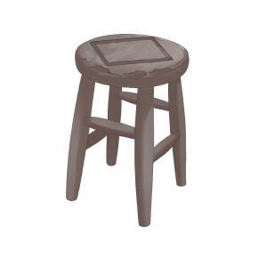 パーツの練習 ~丸椅子~