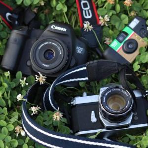 カメラの種類いろいろ。使いたいのはどのカメラ?