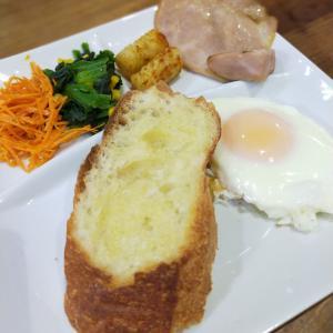 安心安全な食材で朝ごはん【グリーンコープの食材とろじぱんのバタール】