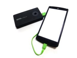 携帯の充電