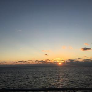 1日目:さんふらわあ乗船記〜日の出〜 / フェリーと鉄道で巡る九州-5