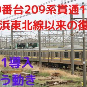 【10両編成爆誕!】幕張車両センター209系の現状