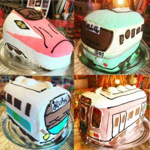 鉄オタプレゼントに電車3Dケーキ(乗り物ケーキ)スペックは?