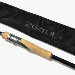 バンタム「264UL+」インプレ!フィネスにバットパワーを兼ね備えたバーサタイルロッド!