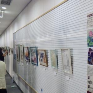 市川駅南口図書館展示