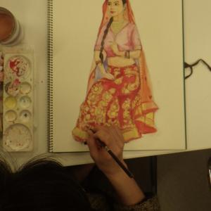 インド婚礼衣装2回目