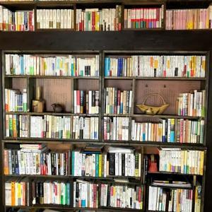 押し入れを本棚に作り替え、蔵書整理