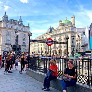 ロンドン、ロックダウン前の風景