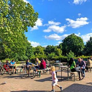 リージェントパークで夏のイギリスを満喫