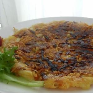 【手抜き料理】鈴木さんちの貧しい食卓(ぱりぱりチーズお焼き)