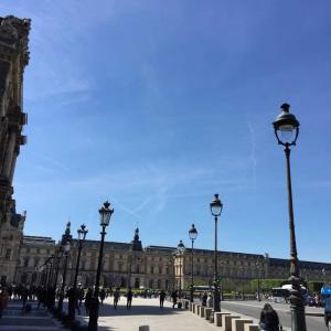 パリの思い出②ルーブル美術館