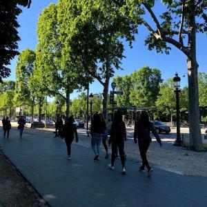 パリの思い出⑥シャンゼリゼ