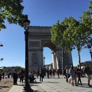 パリの思い出⑦凱旋門