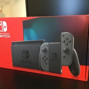 Switchがきました。。。