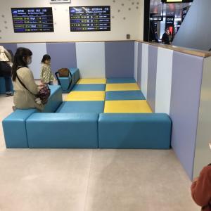 【広島駅】改札内のキッズスペース!ちょっとした待ち時間に使える!