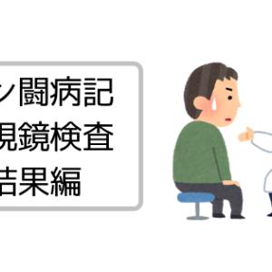 【闘病記】内視鏡検査結果を聞く