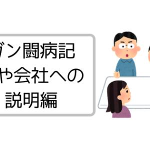 【闘病記】親や会社への説明