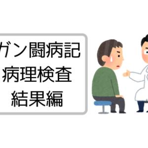 【闘病記】病理検査結果→どうだった?
