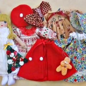 きせかえ人形・抱き人形「季節のご挨拶」