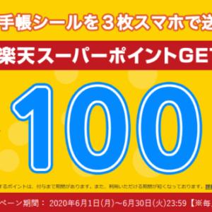 【ヨヤクスリ】お薬手帳シールを3枚送信して楽天ポイント100ポイントをGETしよう!