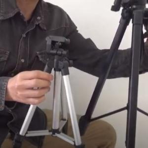 ダイソーのカメラ用三脚(500円)が想定外に素晴らしかった