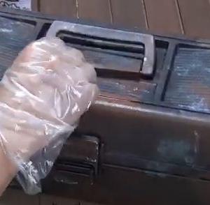 【サビ塗装】ダメージ塗装でツールボックスが職人さんの道具箱に