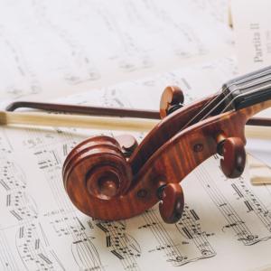 ヴァイオリンも習っていました②