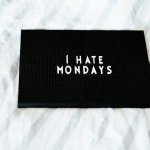 月曜日の憂鬱を少しでも和らげる方法まとめ