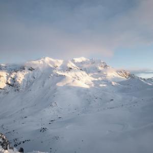 世界最大のスキー場 Les 3 Vallées